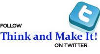 Iscrivetevi al canale twitter di Beppe Andrianò e Think and make it!